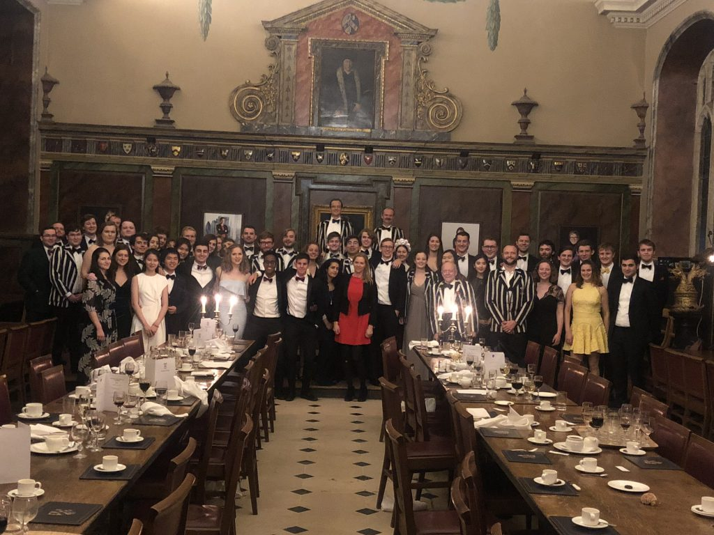 Annual Dinner 2018 at Trinity College.